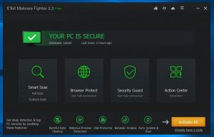 IObit Malware Fighter 8.1.0.655 Crack + License Key Full Download